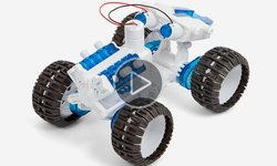 CIC 21-752 Salt Water Fuel Cell Monster Truck Video Review