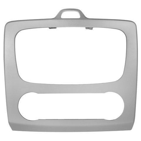 Car Trim Plate for Ford with Climate Control Silvery