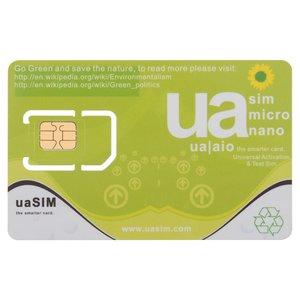 ua SIM - Universal Activation & Test SIM iPhone 3G / 3GS / 4 / 4S / 5 / 5C  / 5S / 5SE / 6 / 6 Plus / 6S / 6S Plus / 7 / 7 Plus Compatible