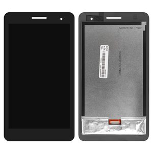 LCD compatible with Huawei MediaPad T1 7.0 3G (T1-701u), (black, with touchscreen) #P070ACB-DB1 rev A0
