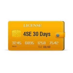 4SE licencia para 30 días