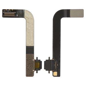 Cable flex para tablet PC Apple iPad 4,  del conector de carga, con componentes