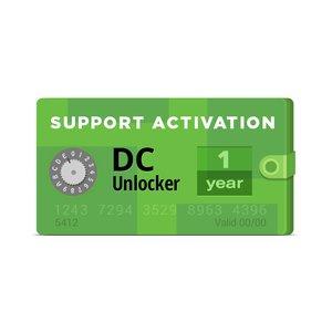 Активация DC-Unlocker (Поддержка на 1 год)