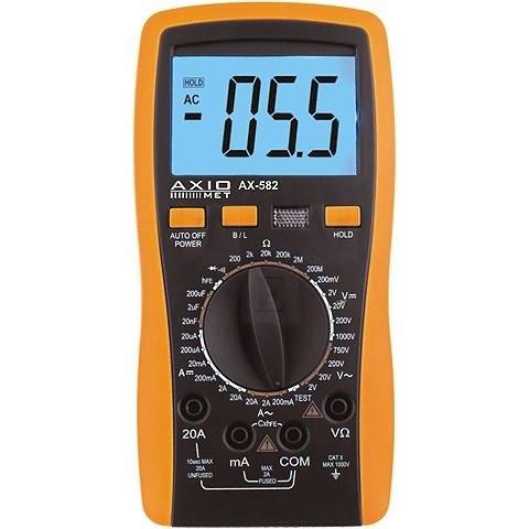 Цифровой мультиметр AXIOMET AX 582