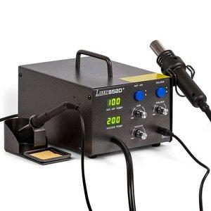 Термоповітряна паяльна станція Lukey 852D+ з паяльником