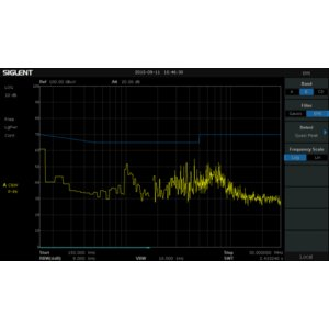 Ключ активації модуля фільтра ЕМП і квазіпікового детектора SIGLENT EMI-SSA3000X для SIGLENT SSA3000X