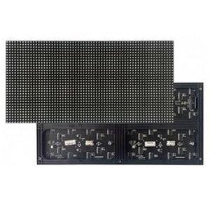 LED-модуль для рекламы (RGB SMD3528, 384 × 192 мм, 64 × 32 точек, IP20, 1800 нт)