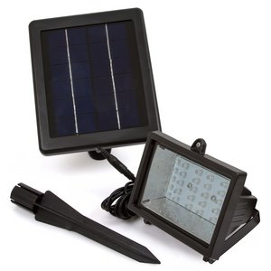 LED Solar Outdoor Light SL-30C (400 lm, 3.7 V, 4000 mAh)