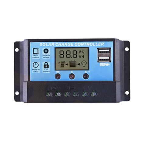 PVI PWM 10A Solar Charge Controller 10 A