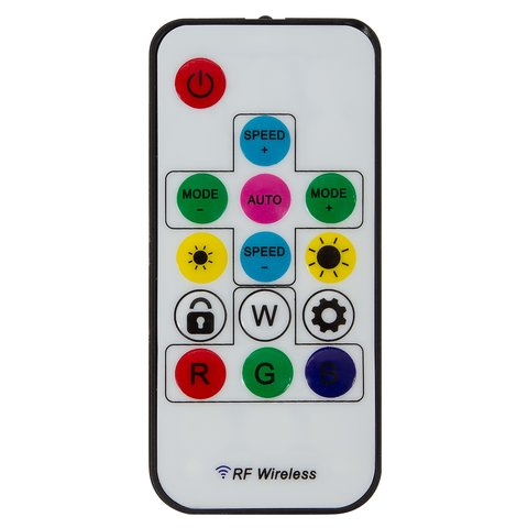 LED Controller with RF Remote Control SP103E (RGB, WS2801, WS2811, WS2812, WS2813 12 V)