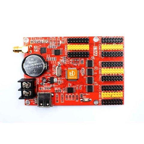 Huidu HD W63 LED Display Module Control Card 1024×128, 2048×64